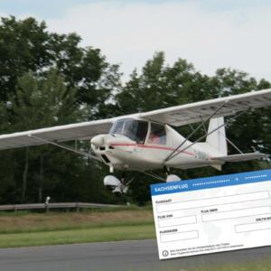 Rundflug-Ticket