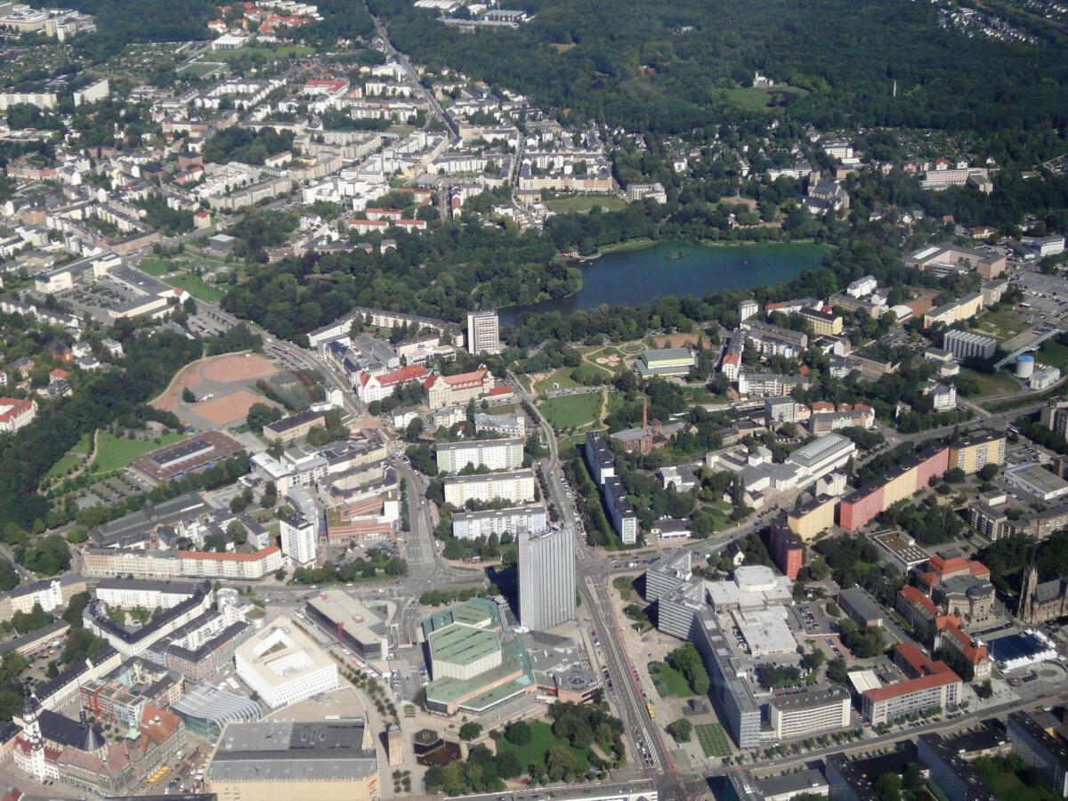 Chemnitz Innenstadt