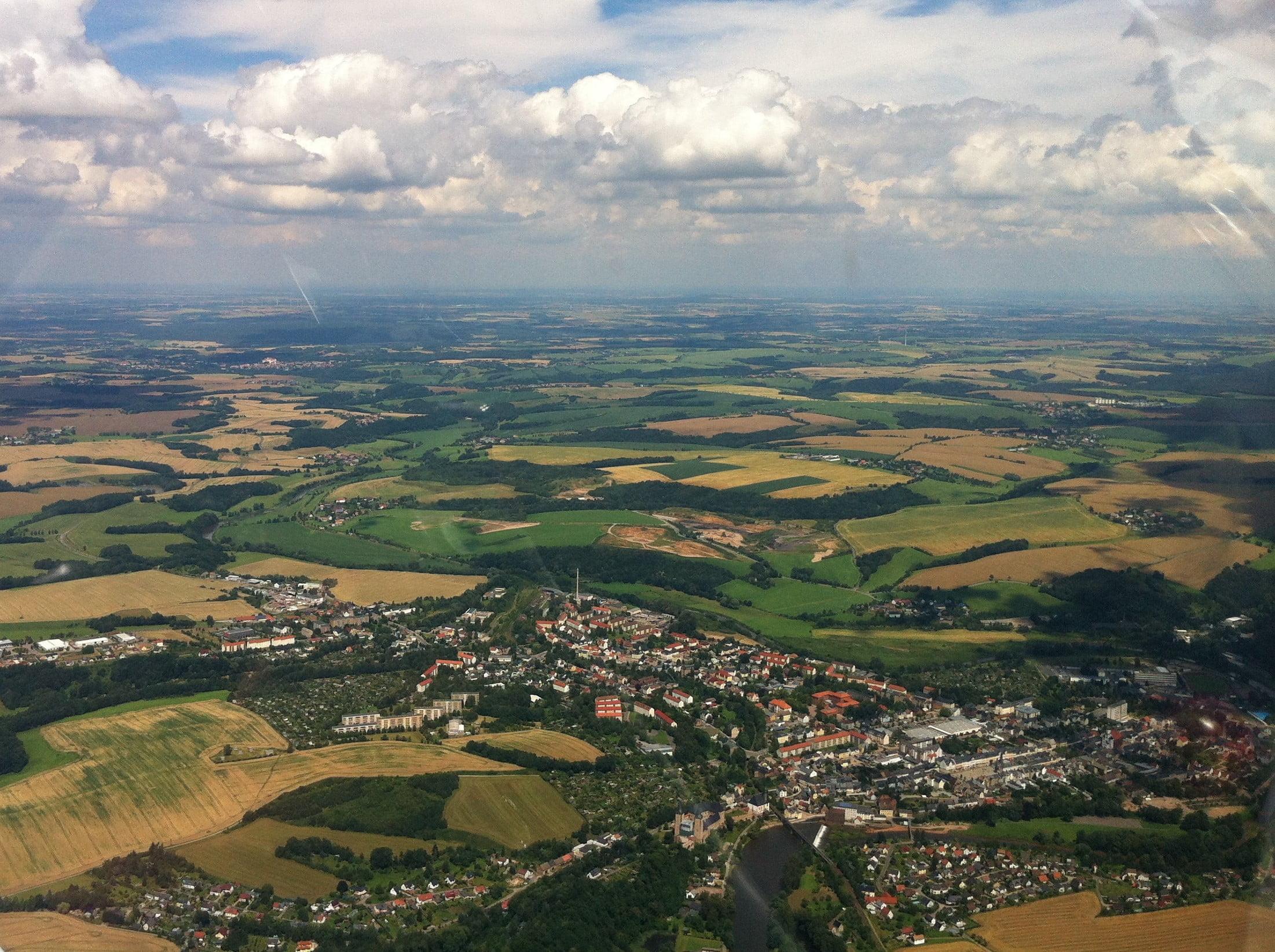Rundflug über Rochlitz